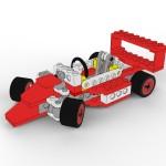 Toon Rendered Toy Car